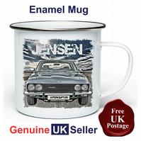 Jensen Interceptor Mug, Camping Mug, Hiking Mug, Fishing Mug, Outdoor Mug,