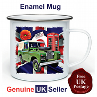 Unofficial Land Rover Series 2 Mug, Camping Mug, Fishing Mug, Outdoor Mug,