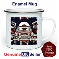 Unofficial Classic Mini  Mug, Camping Mug, Fishing Mug, Outdoor Mug,Classic Mini