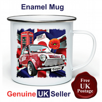 Unofficial Mini Cooper  Mug, Camping Mug, Fishing Mug, Outdoor Mug, Mini Cooper