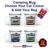 T5 Campervan Mug, Camping Mug, Hiking Mug, Fishing Mug, Outdoor Mug, T5 Van,