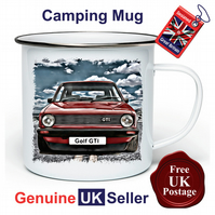 Golf GTI MK1 Mug, Camping Mug, Hiking Mug, Fishing Mug, Outdoor Mug, GTI MK1