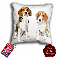Beagle Cushion Cover,