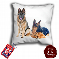 German Shepard Cushion Cover, Alsatian Dog Cover,