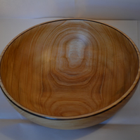 Runcible cherry wood bowl
