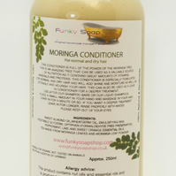 1 Bottle of 250ml Moringa Hair Conditioner for normal and dry hair