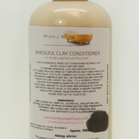1bottle Rhassoul Clay Conditioner 250ml, for oily hair and dry ends
