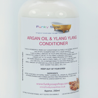 1bottle Argan Oil & Ylang Ylang Hair Conditioner 250ml, for normal or dry hair