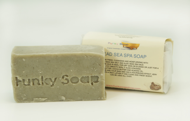 1 piece Dead Sea Spa Soap 100% Natural Handmade 65g