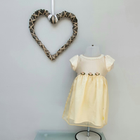 6-9 months Summer Dress. Child Party 'Felicity' Dress. Infant Wedding Wear.