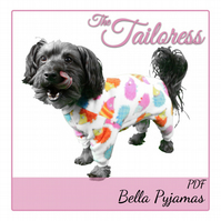 Bella Pyjama PJ's All-in-one Costume Clothing Clothes for Small Pet Dogs PDF