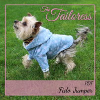 Fido Jumper Sweater Top Clothing Clothes for Small Pet Dogs PDF