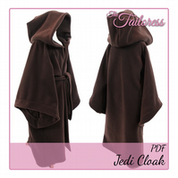 13-14 YRS Kid's Jedi Knight Costume PDF Pattern