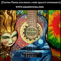 Create your Own Ukulele,Small Guitar
