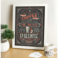 Cafe Art - Bespoke Coffee Print