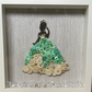 Disney Princess Button Art Frame - Tiana