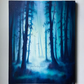 Woodland Light - Forest Woods Landscape Original Fantasy Painting - 40x50 cm
