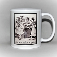 Tea and Cake anyone? funny mug for any occasion