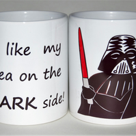 Star Wars mug Darth Vader mug Father's Day Birthday gift for him Dark Side!