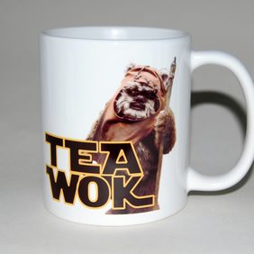 TeaWok mug Star Wars mug Mothers Day mug gift for him Gift for her 18th birthday