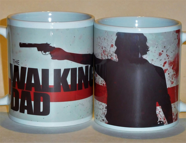Walking Dad mug for all you fans out there..Father's Day mug Father's Day gift
