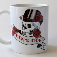 Tattoo Skull mug for Mum Mother's Day Birthday gift for her New Mum gift