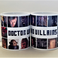 DR WHO Villains mug Father's Day mug