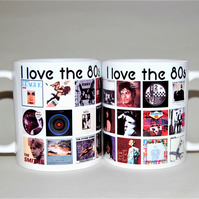 80s mug I love the 80s Father's Day mug Music mug