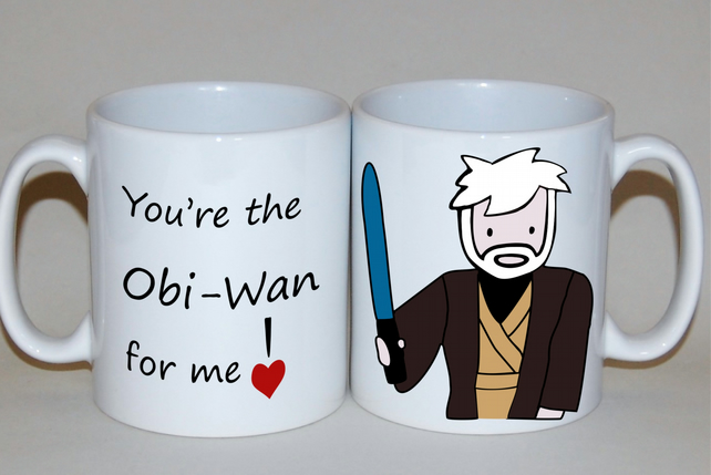 Star Wars mug Obi-Wan Kenobi mug Father's Day Birthday gift for him