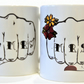 Tattoo Fist mugs Wedding mugs Mr and Mrs Mugs His and Hers mugs