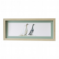 Framed Runner Duck Print