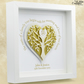Golden Wedding Gift. Personalised 50th Anniversary Frame. Parents Anniversary.
