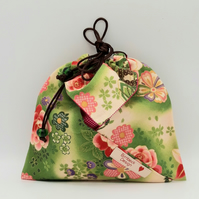 Japanese Hana Make Up Bag