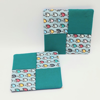 Pair of Hedgehog Coasters