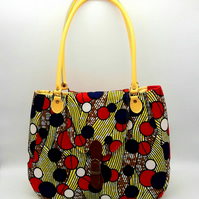 African Waxed Cotton Handbag