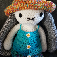 Crochet Bunny Rabbit doll
