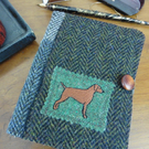 Harris Tweed Notebook Cover Removable A6 Ideal Father' Day or Mother's Day gift.