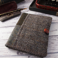 Harris Tweed A6 Notebook Cover