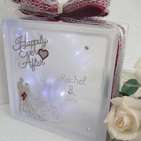 Personalised Wedding Gift, Wedding Keepsake Gift, Unique Wedding Gift,