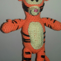 Crocheted Tigger from Winnie the Pooh