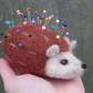 Pin cushion Hedgehog Needle felted pin cushion