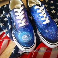 Galaxy vans old Shoes Rainbow kung fu shoes