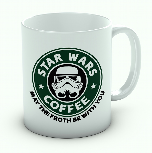 Star Wars Starbucks May The Froth Be