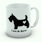 I Love My Scottie Mug