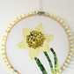 Daffodil Embroidery Hoop - Wall Art - Easter Spring Gift