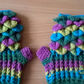 Ladies Dragon Scale Gloves (small)