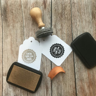 Your Logo into a custom Stamp