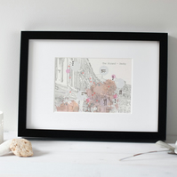 The Strand - Derby - Architectural - Print