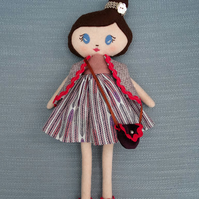 Handcrafted Wool Felt Doll