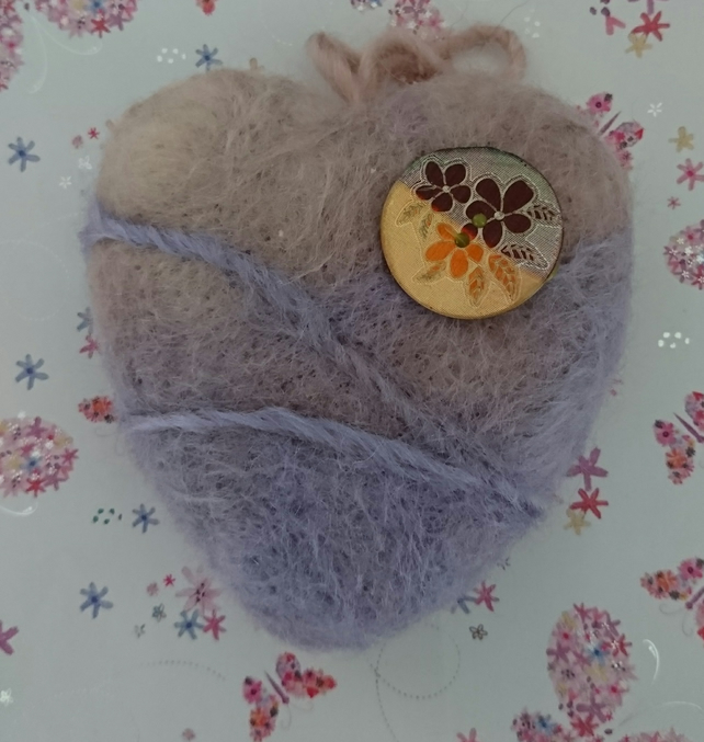 Lavender Haze  - Needle felted - Handmade - Home Deco - Sold Separately